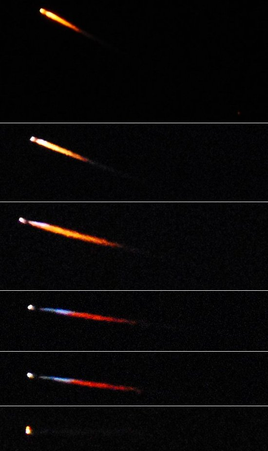 3299 Rocket Launch - series