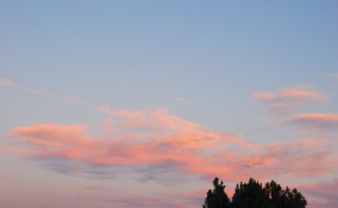 3329 Soft Sunset Clouds