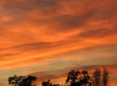 0968 setting Sun, big Sky