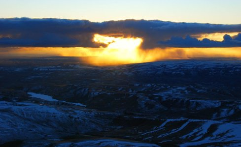5322 Liquid Light, Frozen Hills