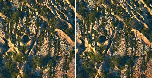 2665-3D Cliff Cave
