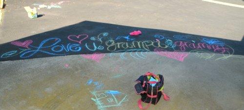 4130 Chalk Art