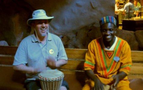 0379 Erny & J Drumming