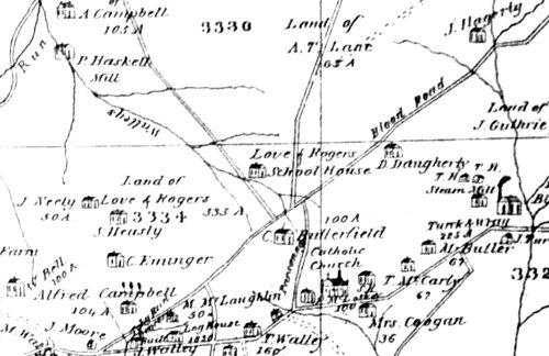 4834 Farmington Map