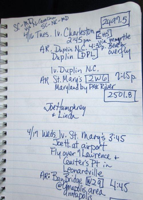 0981 Flight Notes