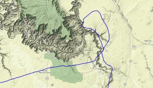 Grand Canyon Track