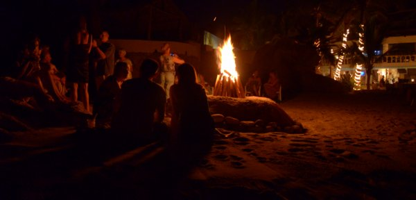 0894 Beach Bonfire