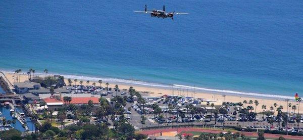 2977 B-25 Mitchell Inbound