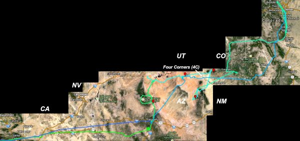 4C Route Map