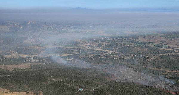 6155 Mesa Fire Perimeter