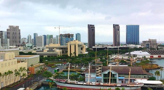 153801 Aloha Tower View