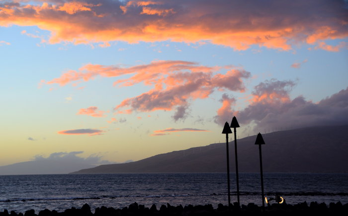 7505 Sunset Over Lahaina